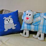 Poduszki dla dzieci i dorosłych. Do łóżka i na kanapę, do przytulania i do dekoracji. Dział wyrody tekstylne użytkowe, szyte na maszynie.