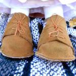 Buty dla lalki wykonane ręcznie