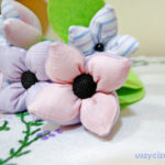 Tekstylne kwiaty szyte na maszynie to doskonały upominek. Dział - Uszyci z Nici, Wyroby Dekoracyjne