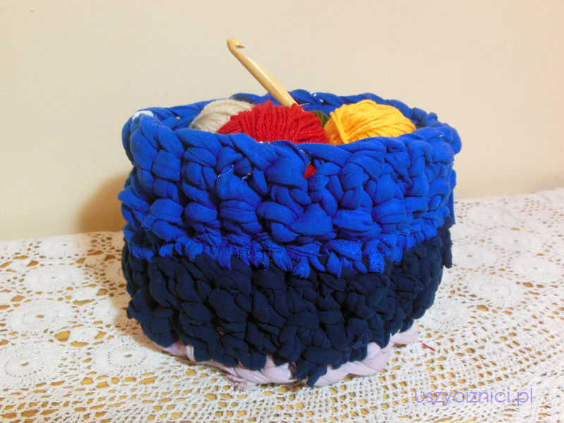 koszyk z bawełny
